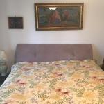 King size headboard with wood frame