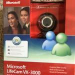 Microsoft live can VX 3000
