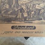 Antique wooden wine storage box