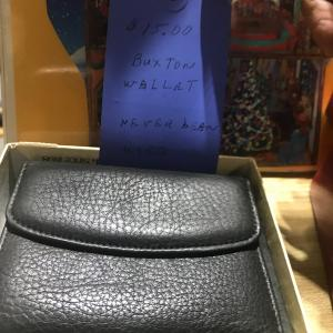 Photo of MEN'S BRAND NEW BLACK LEATHER WALLET