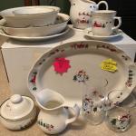Pfaltzcraff Christmas dinnerware