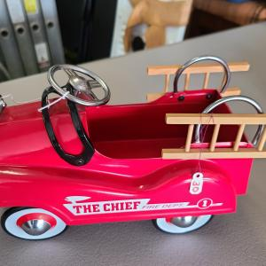 Photo of Vintage Red Fire Truck