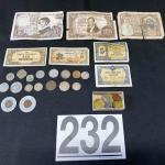 LOT#232J: Mixed Currency Lot