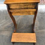 Oak prayer bench