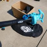 SunJoe Electric 3 in 1 blower mulcher vacuum