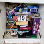 LOT#19P: Contents of Cabinet