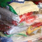 Dog food, $10 per bag,