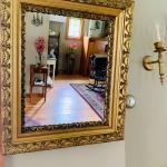 Accent vintage mirror!