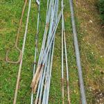 Lot 515: Farm Finds: Irrigation Items, Metal Poles, Scrap and More