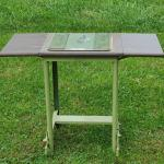 Lot 447: Vintage Flip Side Table