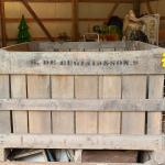 Lot 440: Antique/Vintage Farmhouse Farm Produce Industrial Size Crate