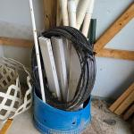 Lot 449: Farm Finds: Tubing and PVC Pipes