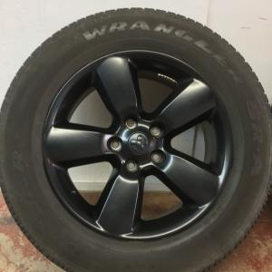 """Photo of 20""""Dodge Ram 1500 OEM wheels and tires"""