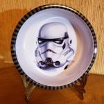 NEW Star Wars Storm Trooper Kids Plastic Bowl