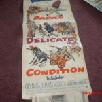 Vintage original 1950s-60s Jackie Gleason Movie Poster