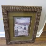 Framed Landscape Art - 3D