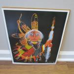 """""""Old Crow Warrior"""" Poster 12"""" x 15"""""""