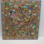 """Framed Picture 33"""" x 35 1/2"""""""