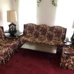 Wood-Framed Sofa Set (8 pieces)