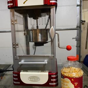 Photo of Pop corn machine