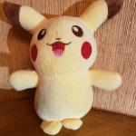 Pikachu Stuffed Plush Toy with Suction Cup