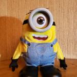 """Disney's Animater Minion """"Stuart"""" Farts from the """"Movie Despicable Me""""."""