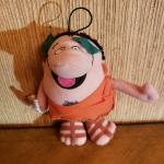 Vintage and Collectable 1990 Little Caesar Pizza Plush Finger Puppet