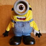 """Disney's Animater Minion Farting """"Stuart"""" from the """"Movie Despicable Me""""."""