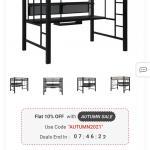 Bed / Desk Combination