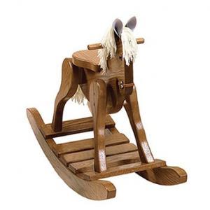 Photo of Amish made wooden rocking horse