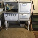 Vintage gas stove