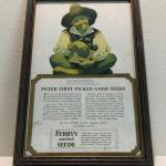 1921 Maxfield Parrish Advertisement Print Peter Piper Ferry's Seeds