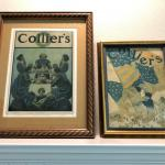Lot of 2 Collier's Maxfield Parrish Antique Print Ads