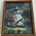 Vintage Maxfield Parrish Print of The Prince from The Knave of Hearts