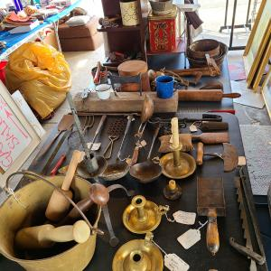 Photo of A Real Hodge Podge of Stuff Garage Sale