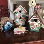 Decorative birdhouss
