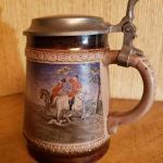 Vintage Marzi and Remy German Mid-Century Beer Stein Mug
