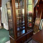 Cherry  curio cabinet / dining China cabinet