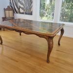 GORGEOUS ANTIQUE DINING TABLE FROM CASTLE