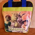 Dream Works LLC. Shrek and Shark Tales Youth Bowling Ball Bag