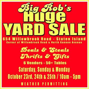 Photo of Big Rob's Yard Sale