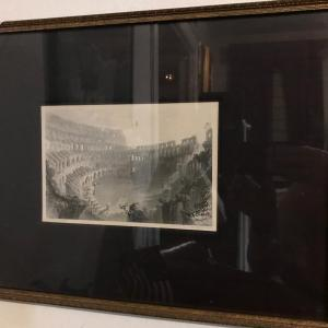 Photo of Original Charcoal Drawing Signed by Artist