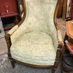 Pair of Vintage Sage Green Woodmark Chairs