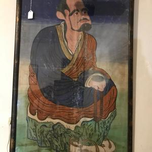 """Photo of Original Portrait of Bodhidharma """"Father of Kung-Fu"""""""