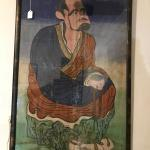 "Original Portrait of Bodhidharma ""Father of Kung-Fu"""