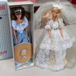 1 NIB Little Debbie Barbie and 1 Bride Barbie