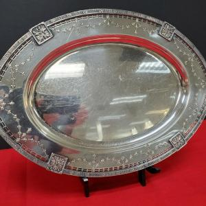 Photo of Lovely Silverplate Platter