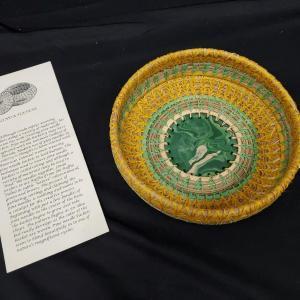 Photo of Linda Haven Pine Needle Basket