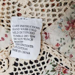 Photo of Crochet Bedspread  100% Cotton