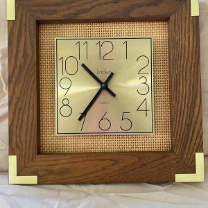 Photo of Vintage Linden Quartz Clock